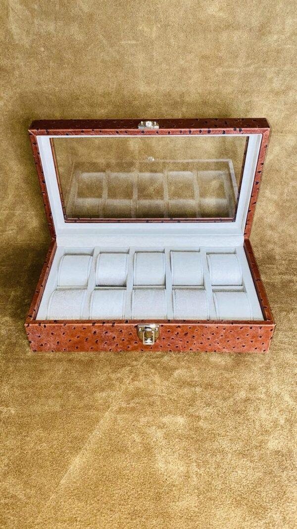 Linea Struzzo Marmotta Luxury 10 posti con vetro