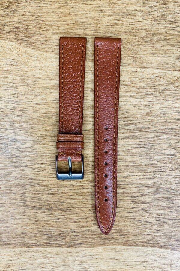 Cinturino in pelle di cinghiale 16x14 mm