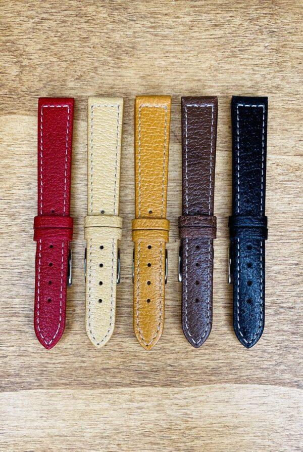 Cinturino in pelle di cinghiale 18x14 mm