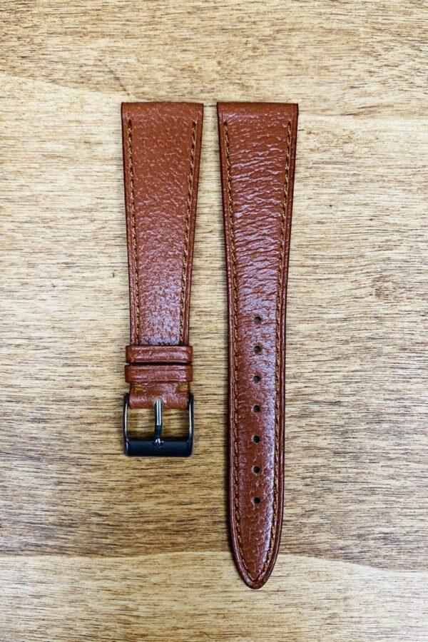 Cinturino in pelle di cinghiale 20x14 mm