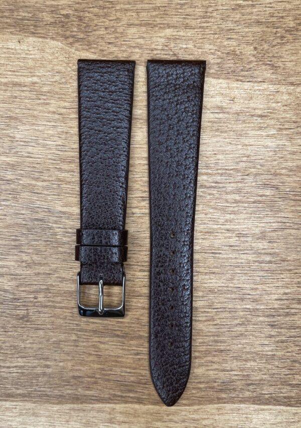 Cinturino in pelle di cinghiale 19x14 mm